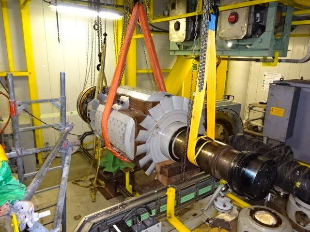Cost-saving generator repair on board of Engie E&P offshore platform